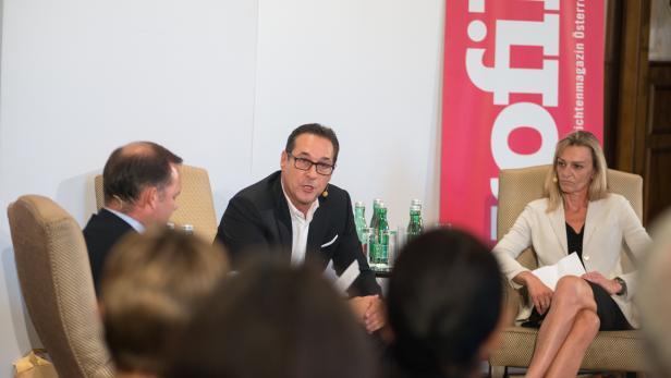 Heinz-Christian Strache im profil-Gespräch