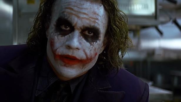 """Heath Ledger als """"Der Joker""""."""