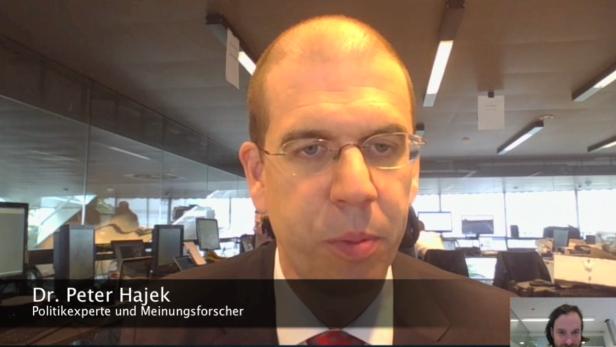 """""""Durchmarsch für die FPÖ"""": Dr. Peter Hajek analysiert"""