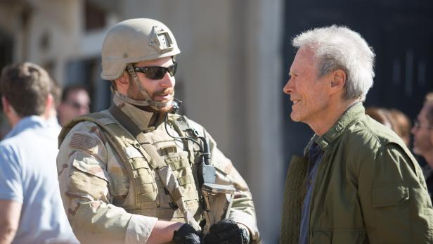 Eastwood mit Hauptdarsteller Bradley Cooper