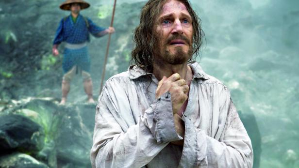 "Liam Neeson in Martin Scorseses Film ""Silence"""