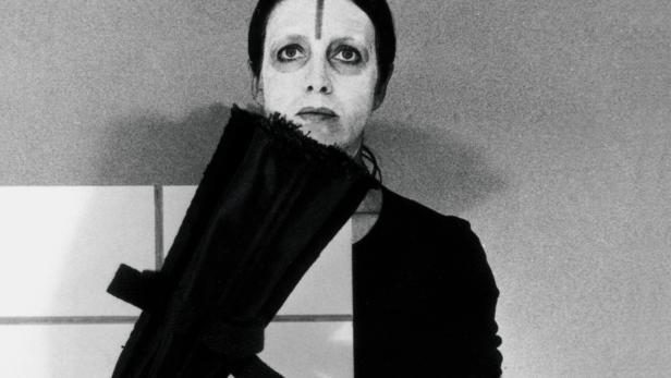 SELBSTBILDNIS: Foto der Künstlerin aus dem Jahr 1977