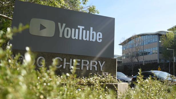 Die YouTube-Zentrale in San Bruno, Kalifornien