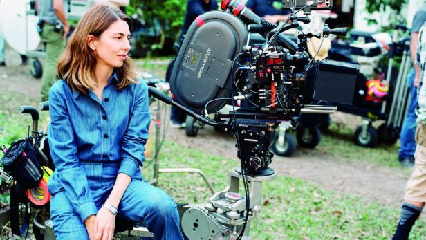 Sofia Coppola am Set
