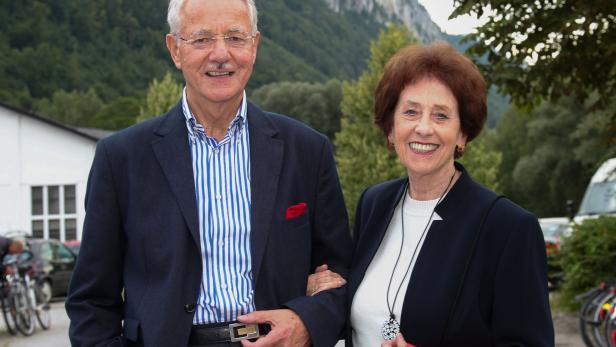 Karlheinz und Agnes Essl.