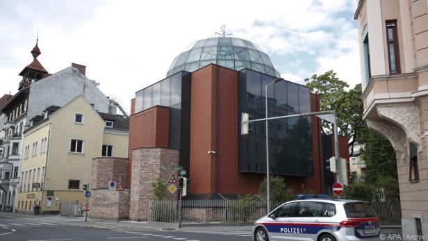 Die Synagoge in Graz wurde am Freitag angegriffen