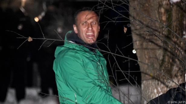 Europa macht Druck für Freilassung des Kremlkritikers Nawalny