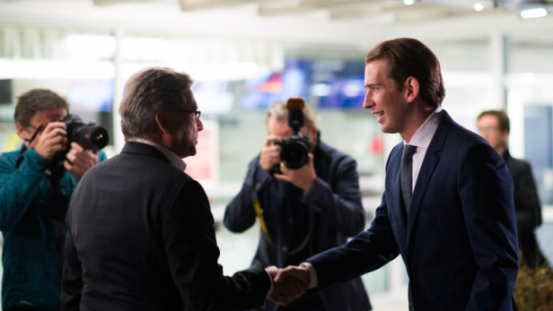 ORF-Chef Alexander Wrabetz und Bundeskanzler Sebastian Kurz