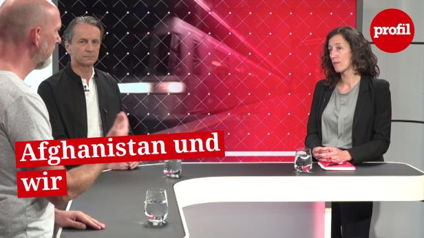 Christian Rainer, Siobhán Geets und Clemens Neuhold im profil-Talk