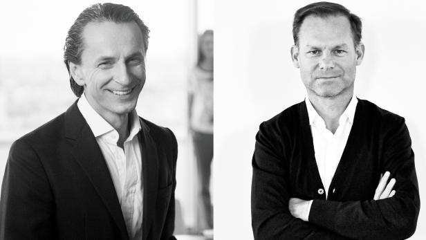 profil-Herausgeber Christian Rainer und Politik-Experte Gernot Bauer