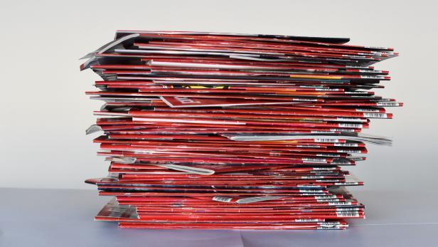 Einige der 2500 Ausgaben profil