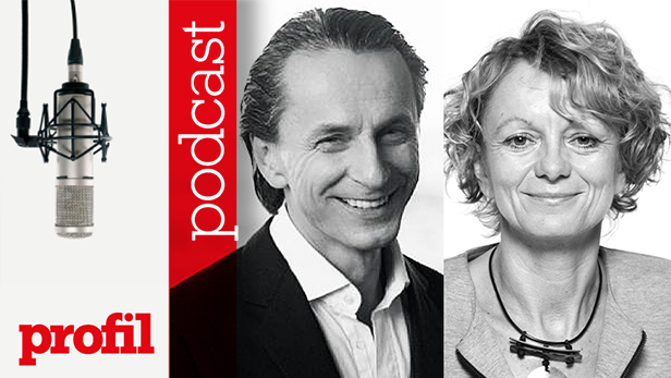 Christian Rainer und Eva Linsinger im Podcast