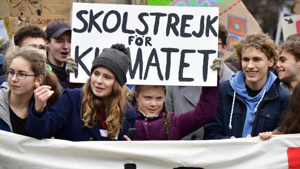 Greta Thunberg, Luisa Marie Neubauer, Jakob Blasel