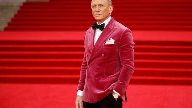 James Bond Schauspieler Daniel Craig bei der Film-Premiere