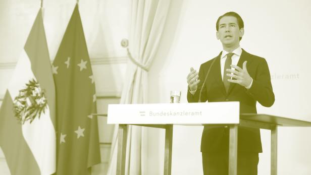 Sebastian Kurz (ÖVP) am Samstag, 9. Oktober 2021