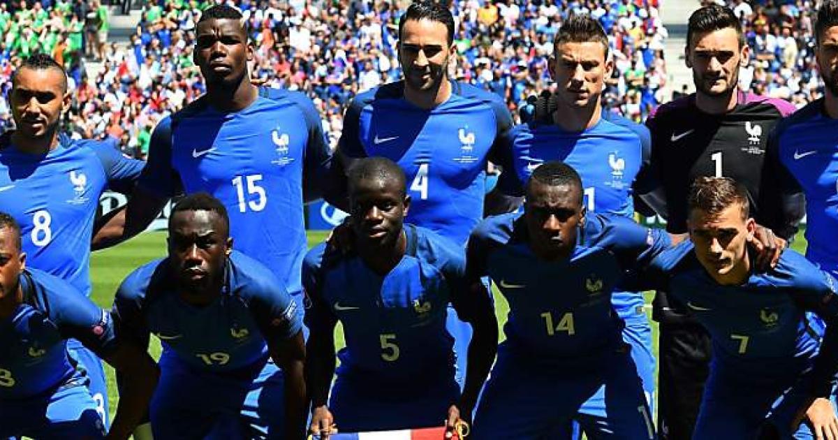 FuГџball Frankreich Gegen Island